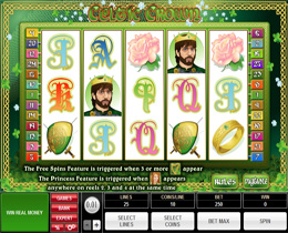 Celtic Crown Slot Screenshot