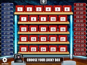 Deal Or No Deal Slot Screenshot